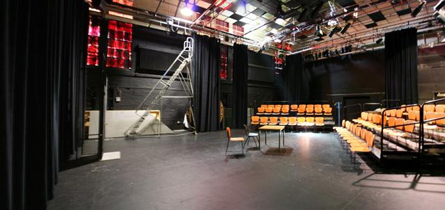 Interior panorama of The Cabaret.