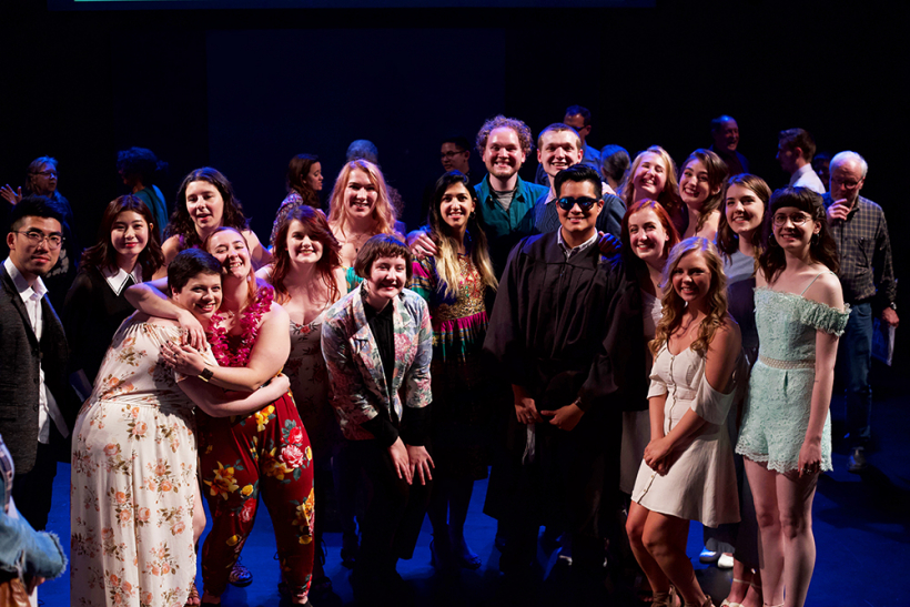 School of Drama Graduation 2018 / Photo by Kyler Martin