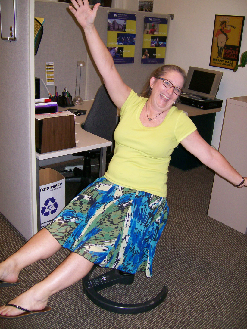 Kathy Burch Mushroom Chair