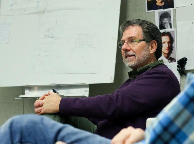 Skip Mercier in Design Studio