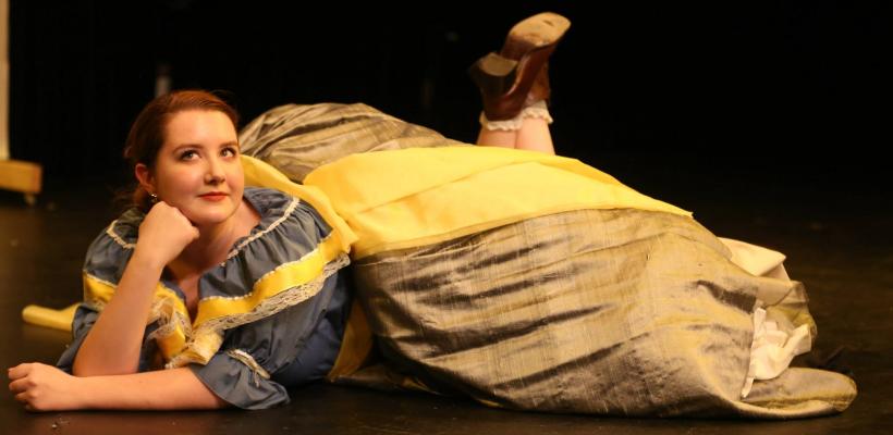 Gabi Boettner in UTS' Yellow Face