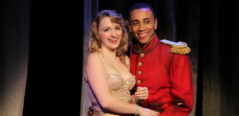 Alana Cheshire and Allen Miller III in Trojan Women: A Love Story