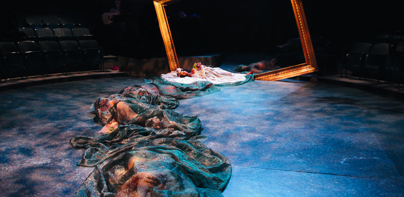 12 Ophelias (a play with broken songs) / Scenic Design by Isabel Le / Photo by Isabel Le