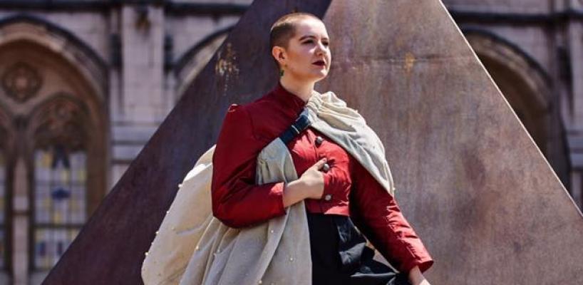 Gabi Boettner in UTS Hamlet