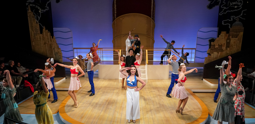 Anything Goes / Set Design by Alex Winterle / Photo by Alan Alabastro