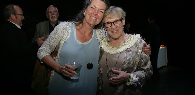 Melanie Taylor Burgess & Sarah Nash Gates (Photo: Mike Hipple)
