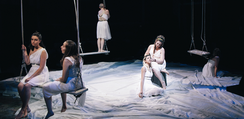 Iphigenia and Other Daughters / Costume Design by Pamela Weinzatl / Photo by Isabel Le