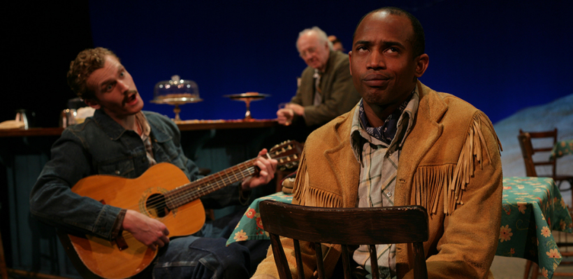 Skye Edwards, Richard Hesik, and AJ Friday in Bus Stop / Photo by Mike Hipple