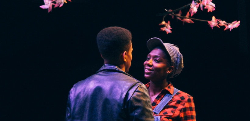 Allen Miller III and Porscha Shaw in As You Like It