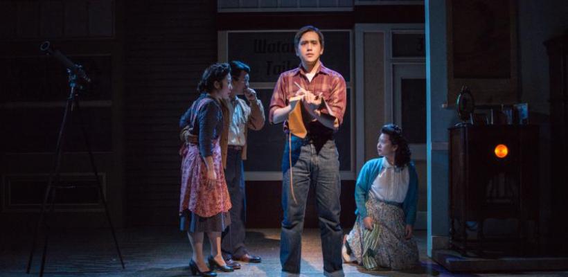 The Journal of Ben Uchida at Seattle Children's Theatre / Lighting Design by Matt Webb / Photo by Elise Bakketun