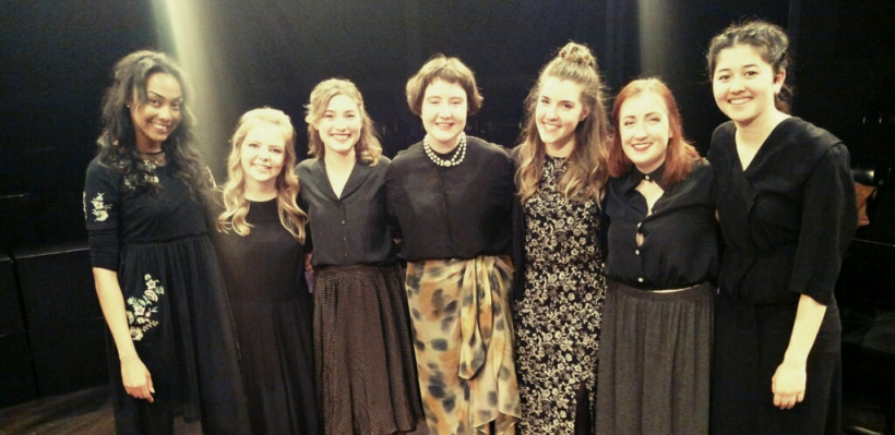 """The cast of """"What Fresh Hell is This? Performing the Depth and Wit of Dorothy Parker"""""""