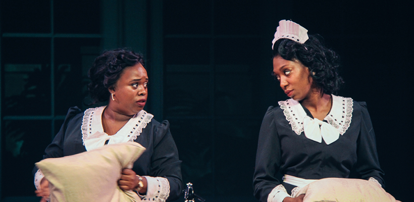 Bria Henderson and Porscha Shaw in By the Way, Meet Vera Stark