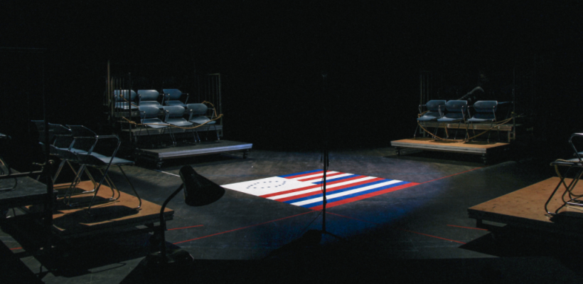 Death ETC / Scenic Design by Isabel Le / Photo by Isabel Le