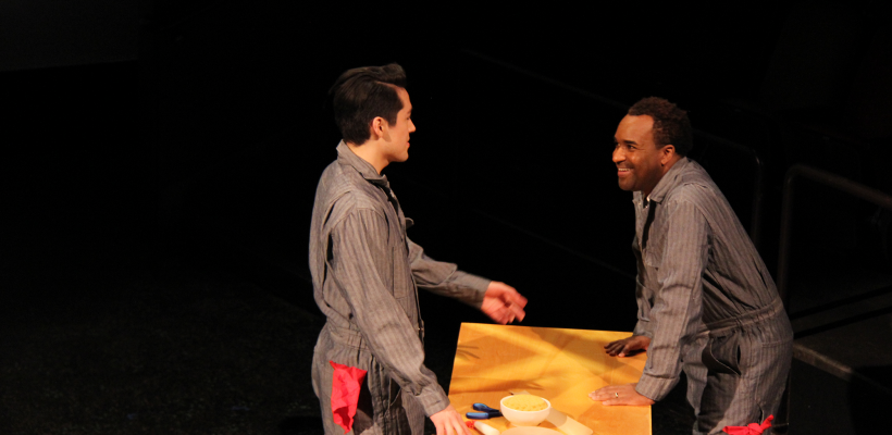 Josh Kenji and André Brown in Maple and Vine / Photo by Isabel Le