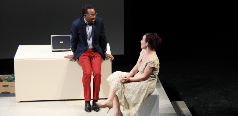 André Brown and Tatiana Pavela in Maple and Vine / Photo by Isabel Le
