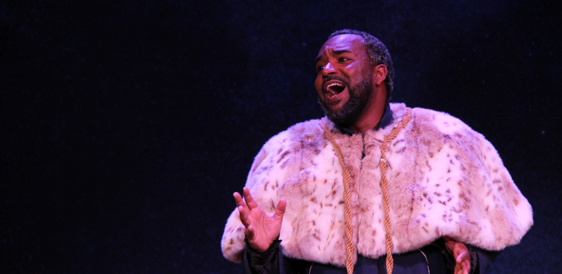 André Brown as Basilio in Sueño / Photo by Isabel Le