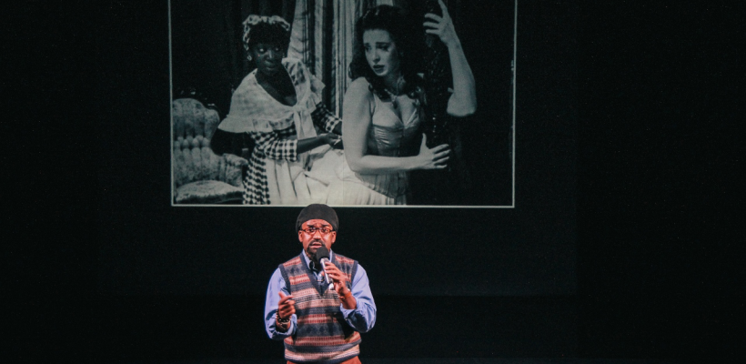 André Brown as Herb Forrester in By the Way, Meet Vera Stark / Photo by Isabel Le