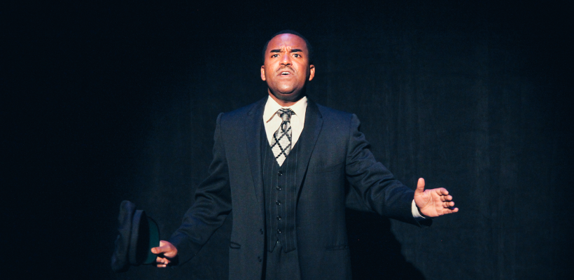 André Brown as Leroy Barksdale in By the Way, Meet Vera Stark / Photo by Isabel Le
