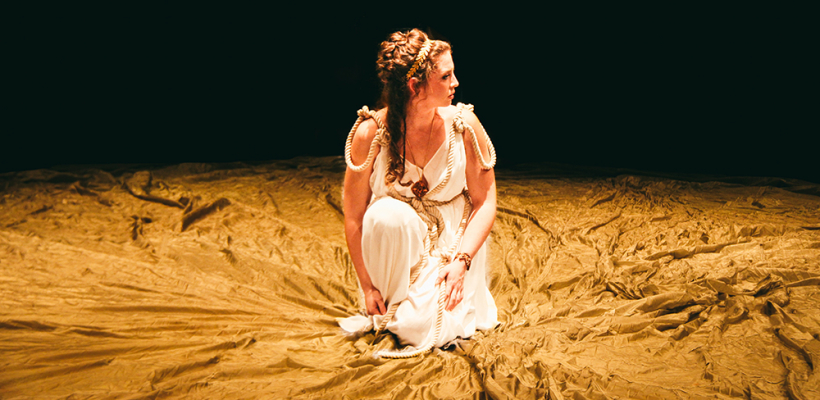 Tamsen Glaser in Iphigenia and Other Daughters