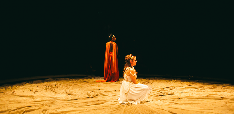 Iphigenia and Other Daughters / Scenic Design by Isabel Le / Photo by Isabel Le