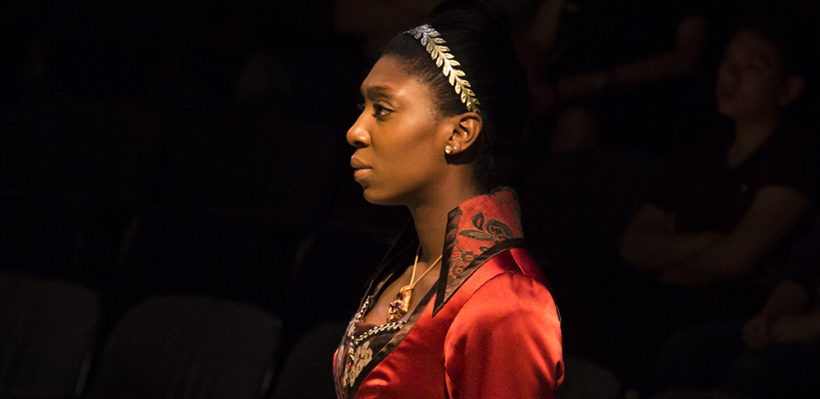 Porscha Shaw in Iphigenia and Other Daughters