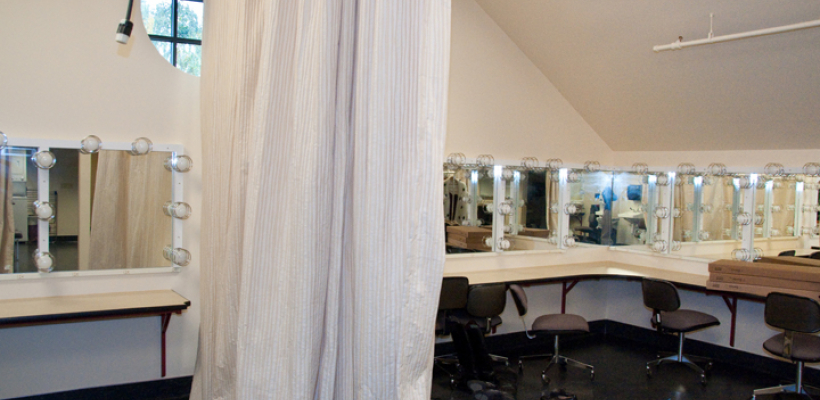 Dressing room of the Jones Playhouse