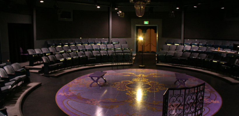 Interior shot of Penthouse Theater