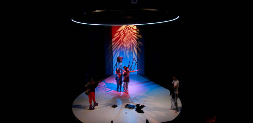 Angels in America Part II: Perestroika / Set design by Shin-yi Lin / Photo by Mike Hipple
