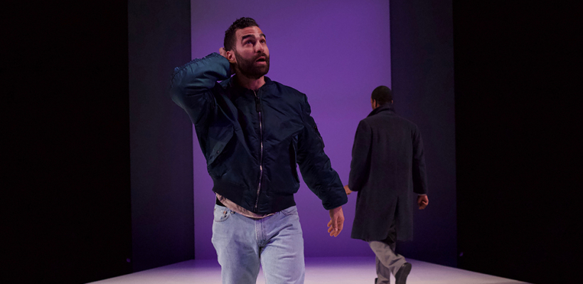Phillip Ray Guevara as Louis in Angels in America Part II: Perestroika / Photo by Kyler Martin