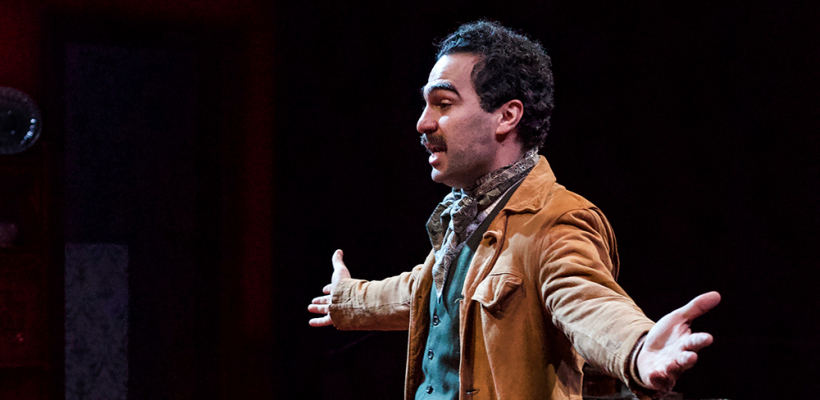 Phillip Ray Guevara as Martin in Rutherford and Son / Photo by Kyler Martin