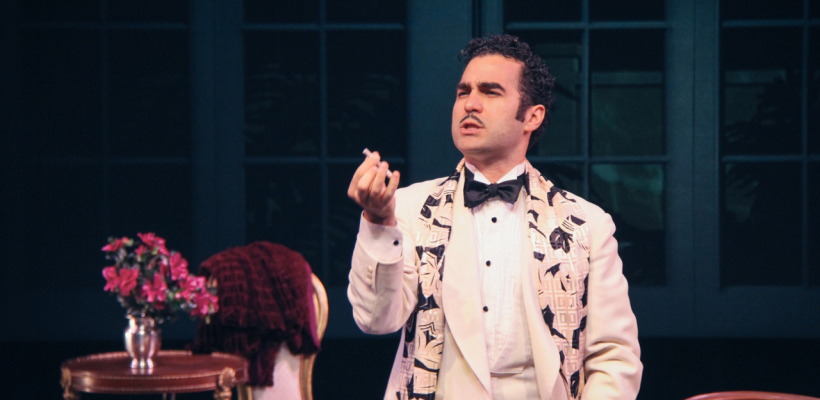 Phillip Ray Guevara as Maximillian Von Oster in By the Way, Meet Vera Stark / Photo by Isabel Le