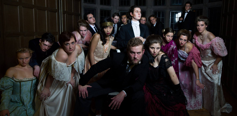 The cast of UTS' The Picture of Dorian Grey