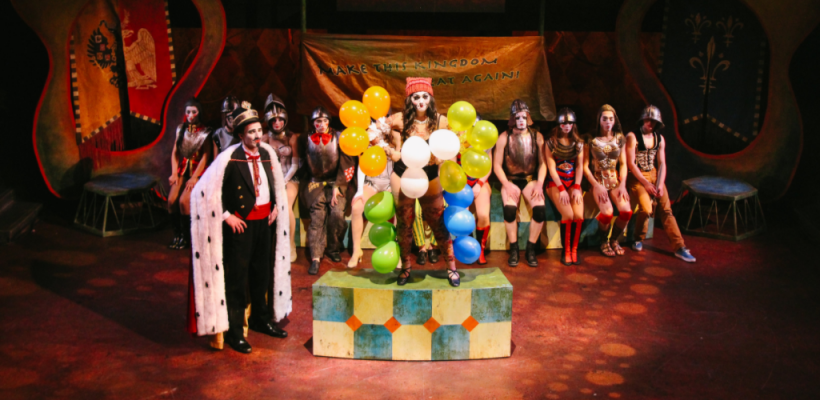 Pippin / Scenic Design by Isabel Le / Photo by Isabel Le