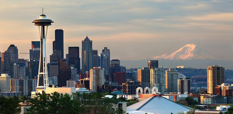 Seattle Skyline - Photo by Steve Korn