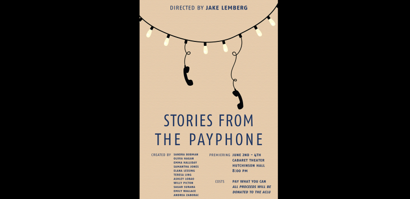 """""""Stories from the Payphone"""" poster"""
