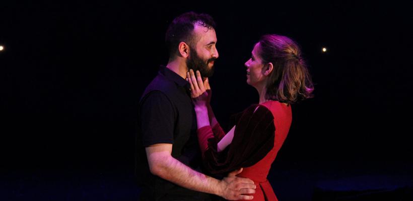 Adrian Tafesh and Bridget McKevitt in Sueño