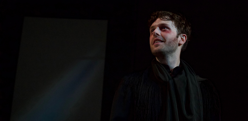 Taylor Jones as Prior Walter in Angels in America Part II: Perestroika / Photo by Kyler Martin
