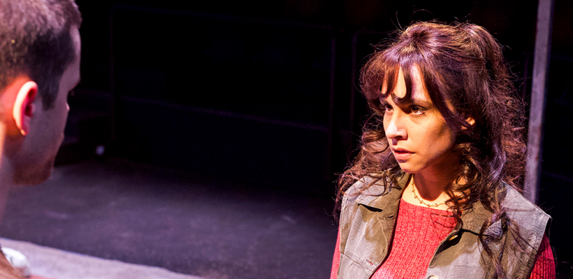Jon Díaz and Tricia Castañeda-Gonzales in IN THE HEART OF AMERICA / Photo by Kyler Martin