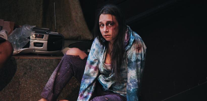 Tricia Castañeda-Gonzales in TROJAN WOMEN: A LOVE STORY / Photo by Isabel Le