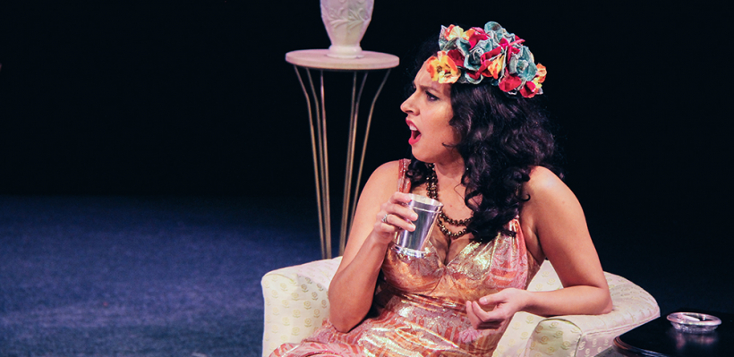 Tricia Castañeda-Gonzales in BY THE WAY, MEET VERA STARK / Photo by Isabel Le