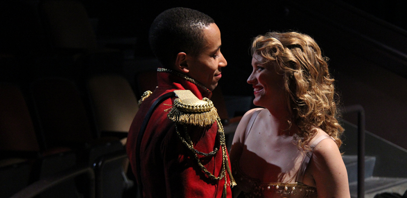 Allen Miller III and Alana Cheshire in Trojan Women: A Love Story