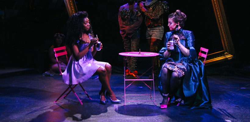 Porscha Shaw and Tamsen Glaser in 12 Ophelias