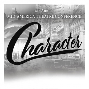 The front page program of the Mid-American Theatre Conference 2020