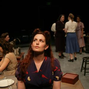 Rebekah Patti as Mimi in 'The Workroom' (2014). Photo: Mike Hipple