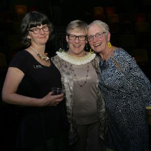 Deb Trout, Sarah Nash Gates, & Joan Voorheis