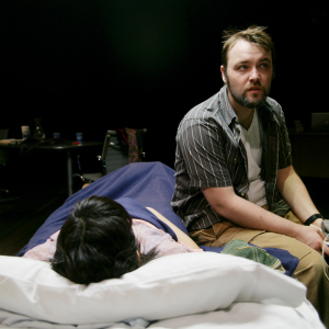 Christopher Donoghue as Tom in 'Reading to Vegetables' (2014). Photo: Mike Hipple