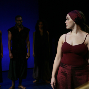 Andrea Salaiz in 'The Arabian Nights' (2014). Photo: Mike Hipple
