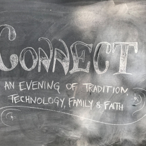 Image of Connect written on a blackboard