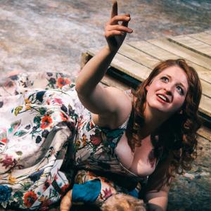 Alyssa Franks in Trojan Women: A Love Story \ Photo by Isabel Le