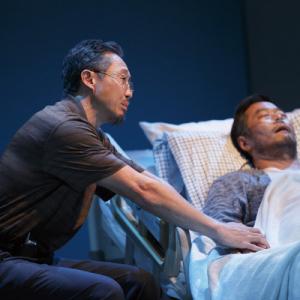 Joseph Yang in Aubergine at Playwrights Horizons